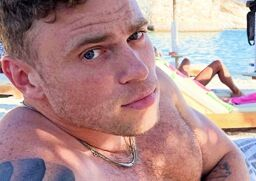 Gus Kenworthy makes a splash on Greek vacation … and is that a new boyfriend?