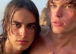 Models Jordan Barrett and Fernando Casablancas marry in Ibiza, Spain